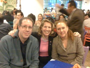 VICTOR, HIS WIFE MELI AND ANDREA