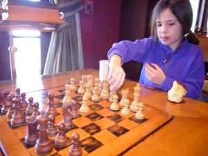 isa playing chess